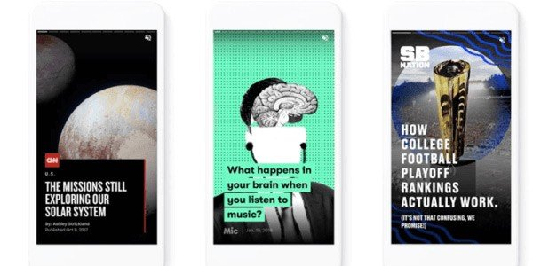 Google's new AMP Stories Format