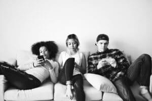 Gen z teenagers