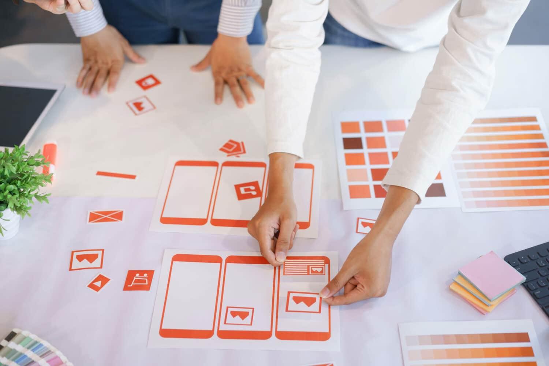 UX design on mobile